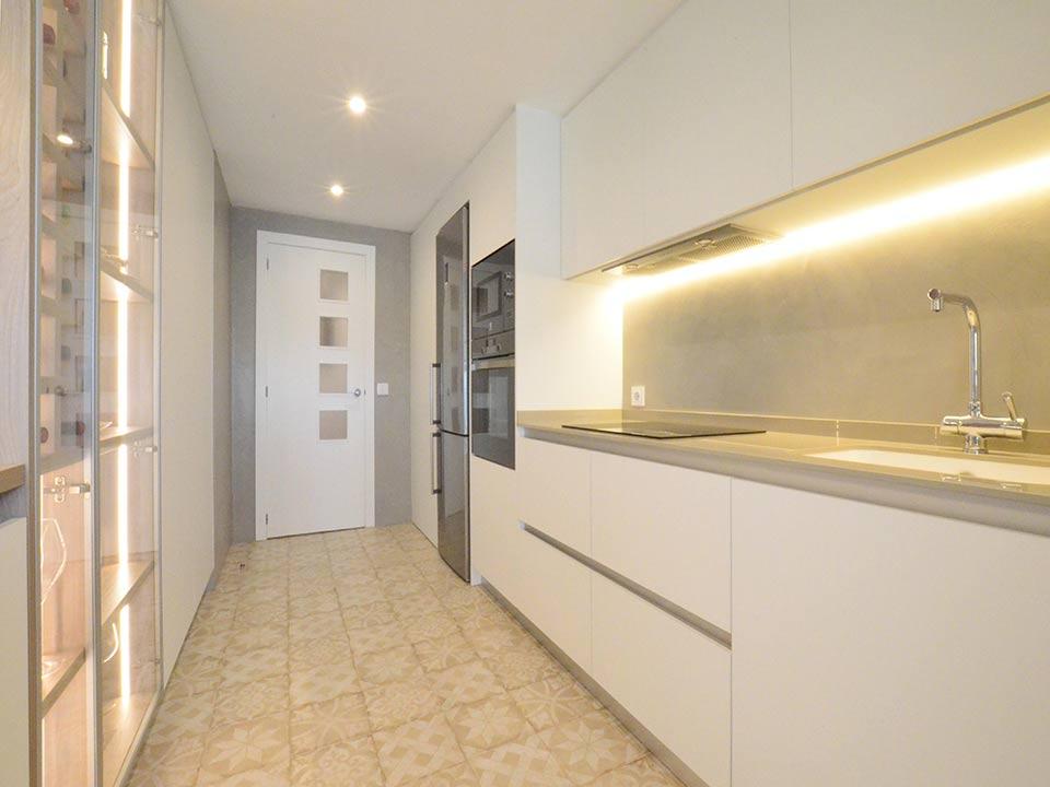 Reforma de cocina y dos baños en Valencia
