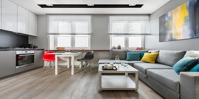 reforma cocina abierta apartamento