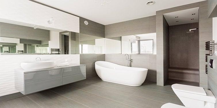 suelo de baldosa para baño