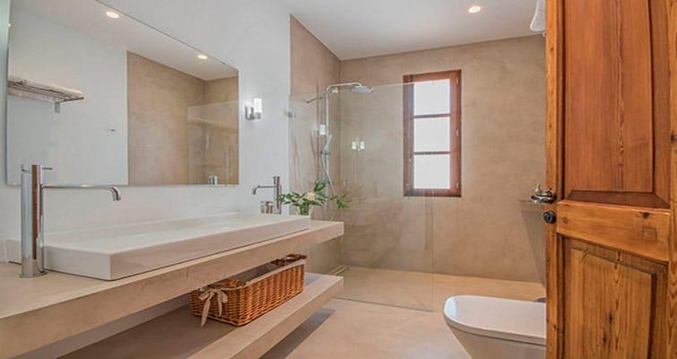 baños de microcemento