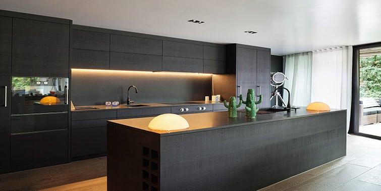 reformar cocina negra