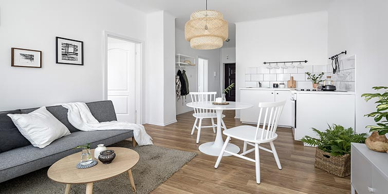 reforma cocina estilo nórdico