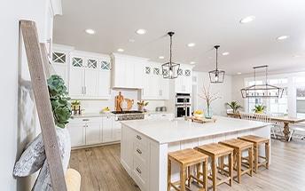 Cocinas blancas para la reforma de tu hogar