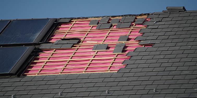paneles solares en la reforma de tejado