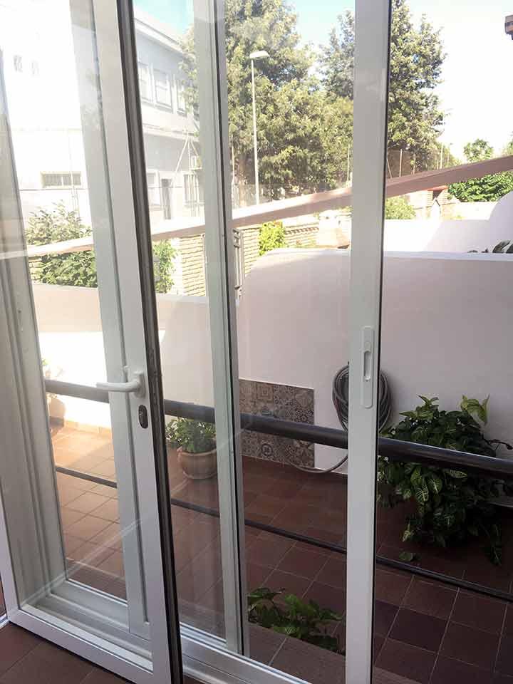 Reforma de cerramiento de terraza en Málaga