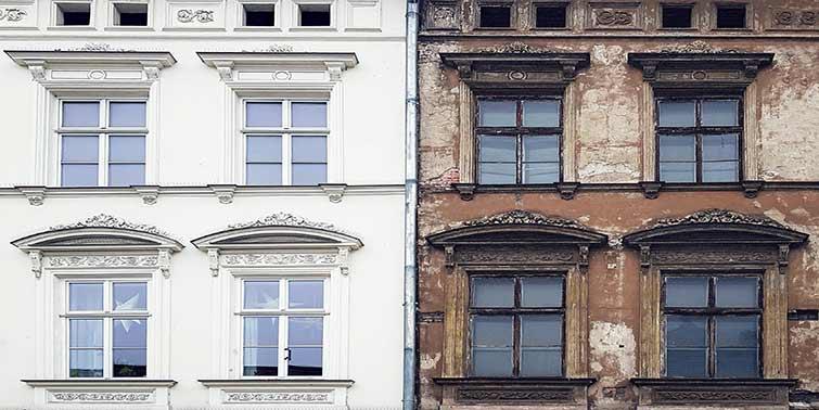 Reformar una vivienda en un edificio protegido