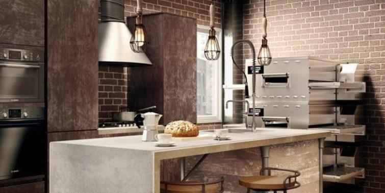 ▷ Elegir una cocina de diseño industrial para tu reforma ...