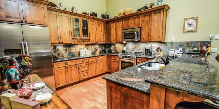granito interior y exterior cocina