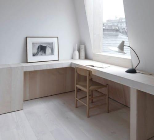escritorio reforma minimalista