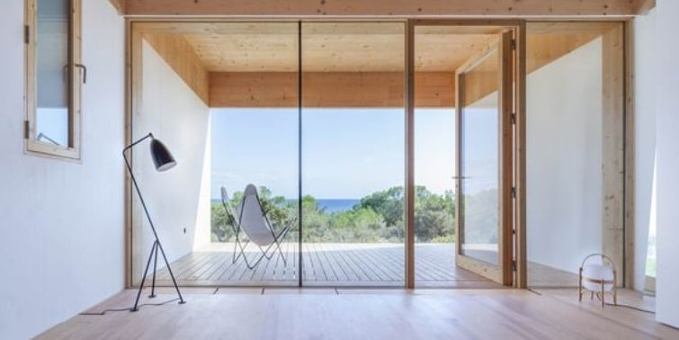 casas bioclimáticas vistas