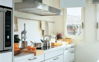 Cómo aprovechar una cocina alargada