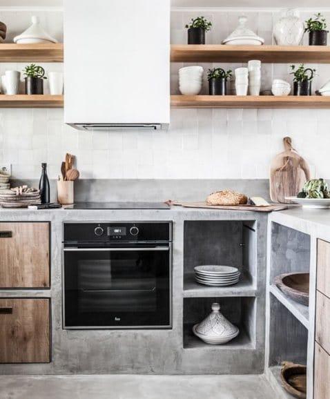 cocina microcemento