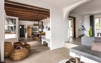 Casas ibicencas, inspiración para apartamentos de playa.