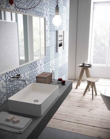 lavabos con azulejos