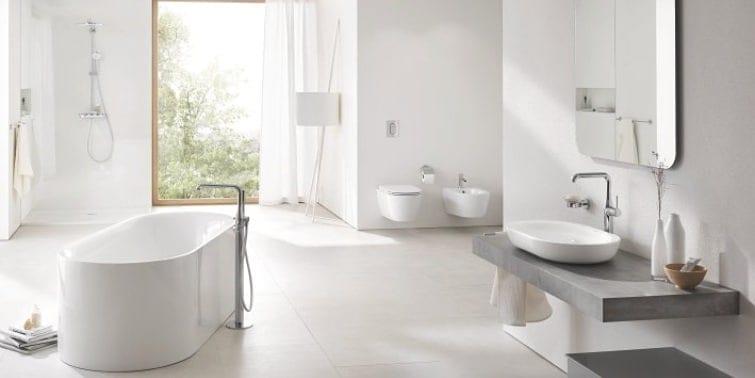 reforma de baño de gama confort sanitarios