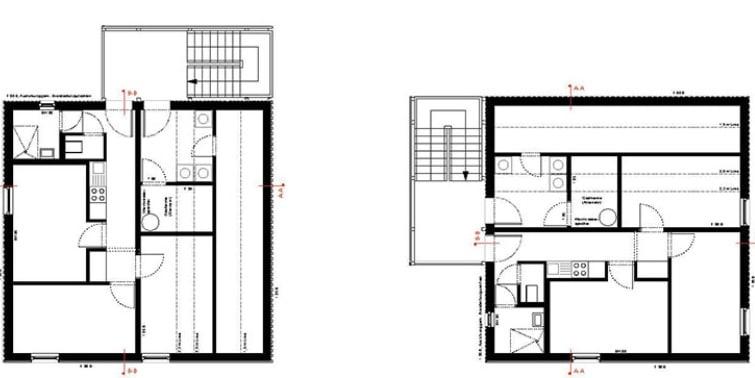 dividir una vivienda planos