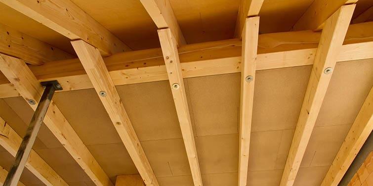 reparar un forjado de madera