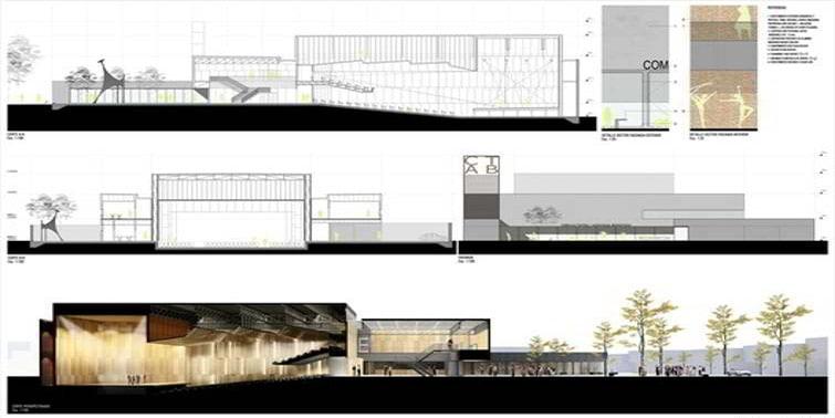 proyecto visado colegio arquitectos