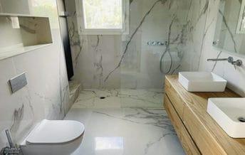 reforma baño barcelona marmol